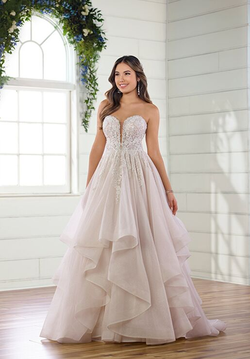 Essense of Australia D2894 A-Line Wedding Dress