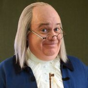 Philadelphia, PA Ben Franklin Impersonator | Ben Franklin Keynote Speaker - Brian P. Mulligan
