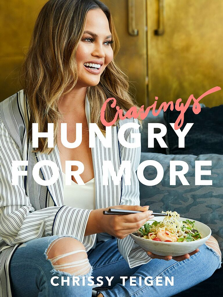 Hungry for More Chrissy Teigen cookbook gift for mother-in-law