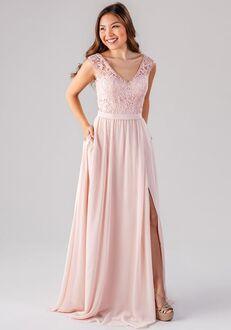 Kennedy Blue Natalie V-Neck Bridesmaid Dress