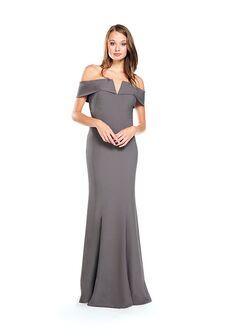 Bari Jay Bridesmaids 2014 Off the Shoulder Bridesmaid Dress