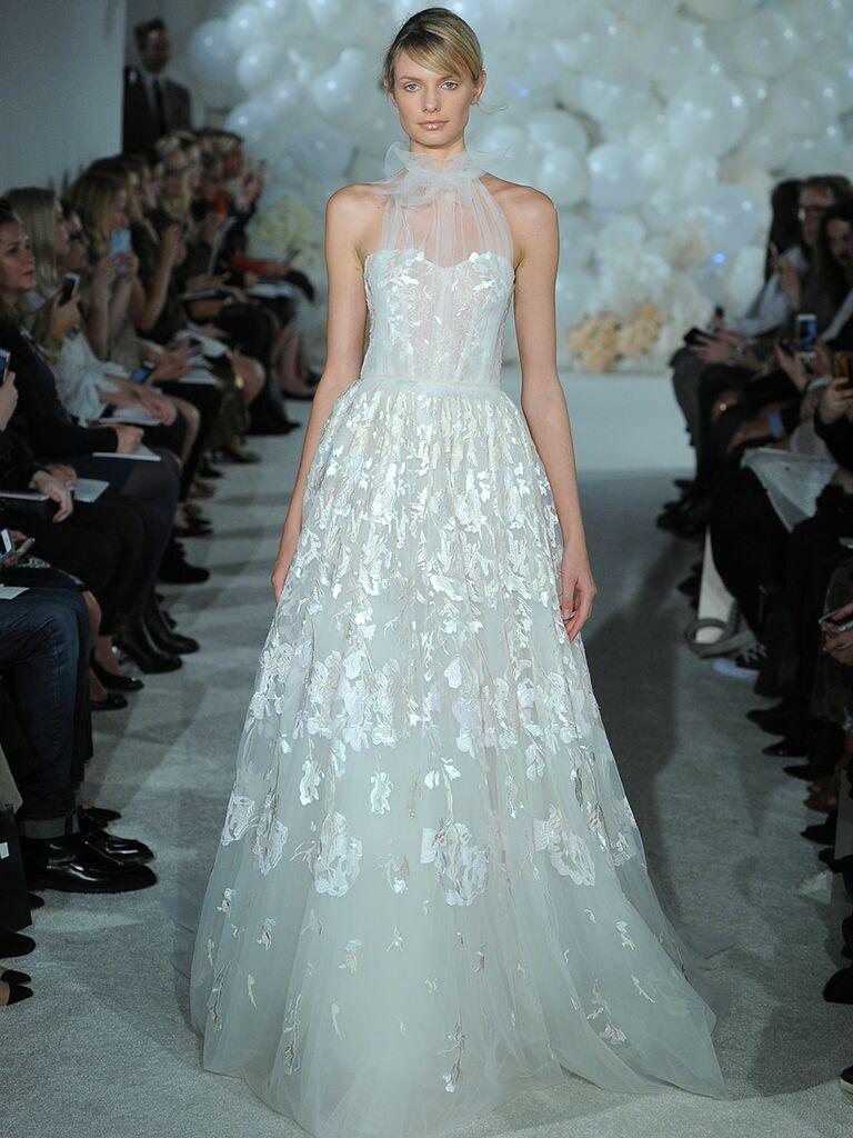 Mira Zwillinger Spring 2018 Collection: Bridal Fashion Week Photos