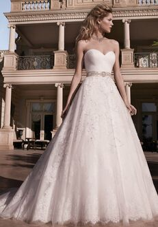 Casablanca Bridal 2136 Ball Gown Wedding Dress