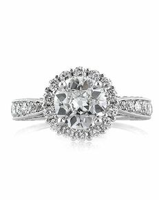 Mark Broumand Unique Cut Engagement Ring