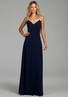 Hayley Paige Occasions 5759 V-Neck Bridesmaid Dress