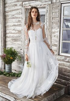 Lillian West 66041 A-Line Wedding Dress