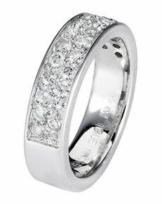 TRUE KNOTS LOVE IS LIGHT COLLECTION-DW216 Palladium, Platinum, White Gold Wedding Ring