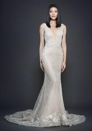 Lazaro 3701 Sheath Wedding Dress