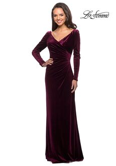 La Femme Evening 25207 Black Mother Of The Bride Dress