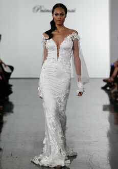 Pnina Tornai for Kleinfeld 4721 Sheath Wedding Dress