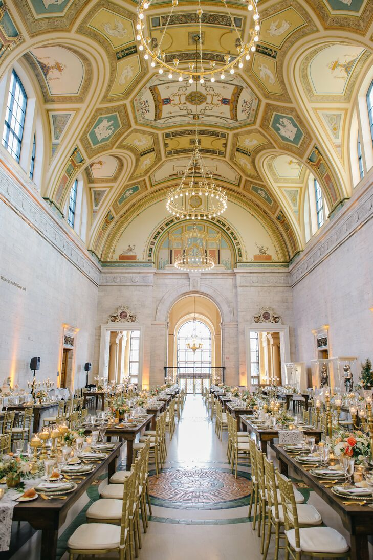 Reception at the Detroit Institute of Arts in Michigan