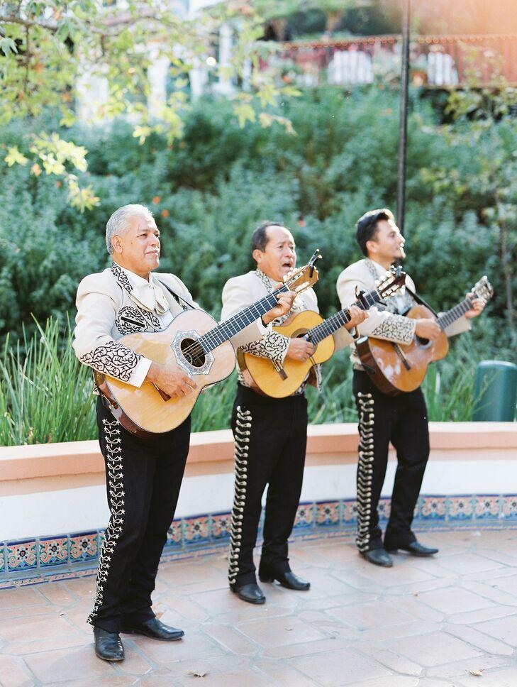Traditional Mariachi Band at Rancho Las Lomas in Silverado, California