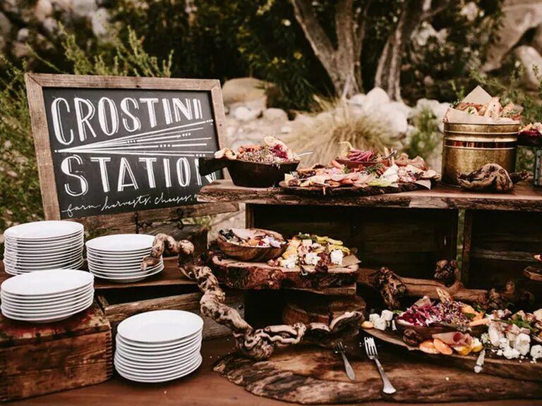 crostini station