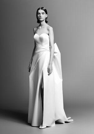 Viktor&Rolf Mariage DRAMATIC BOW BACK COLUMN A-Line Wedding Dress