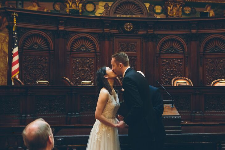 New York Supreme Court First Kiss