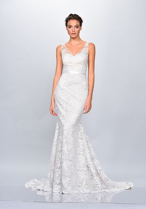 THEIA 890633 Sheath Wedding Dress