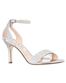 Nina Bridal Venus_Silver Silver Shoe