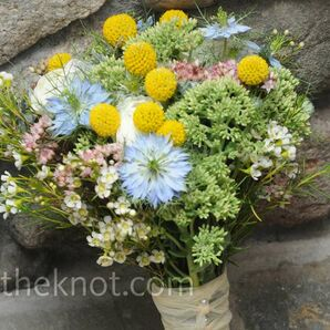 Pastel Wildflower Bouquet
