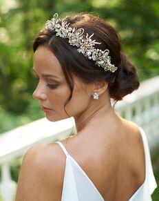 Dareth Colburn Thea Floral Crown (DC-7102) Gold Tiara