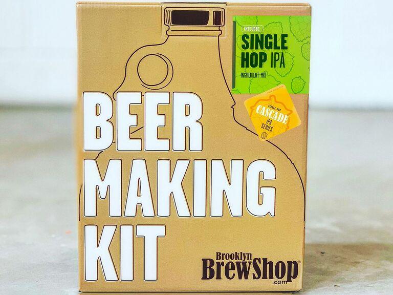 beer kit gift for fiance