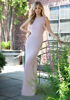 Hayley Paige Occasions 5863 Bateau Bridesmaid Dress