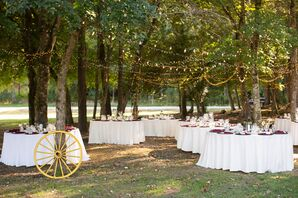 Fall North Carolina Outdoor Reception