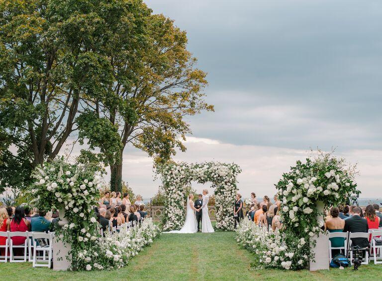 The Knot Dream Wedding 2017 ceremony