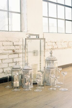 Modern and Moroccan-Style Silver Lanterns