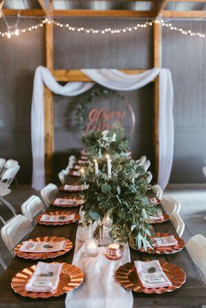 Custom Wedding Reception Signs