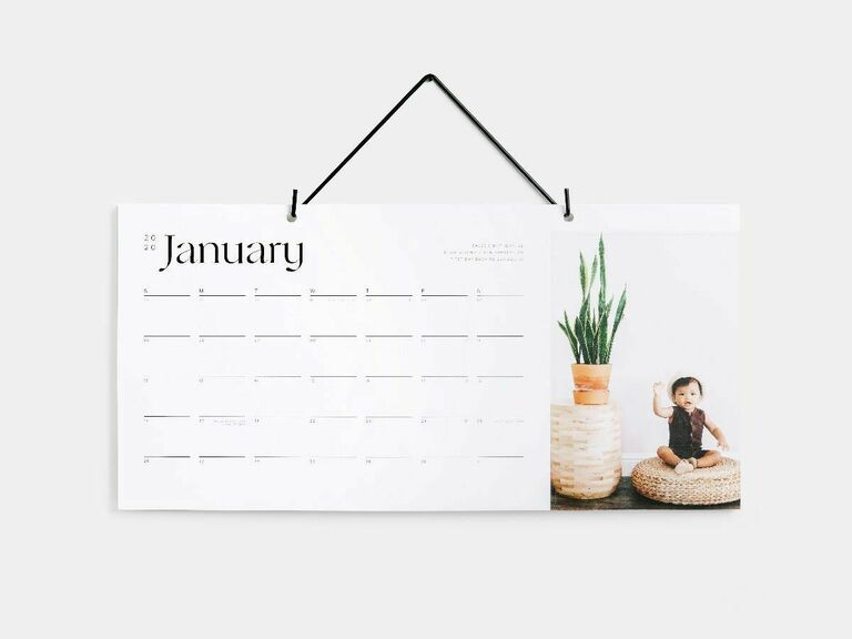 photo calendar gifts for newlyweds