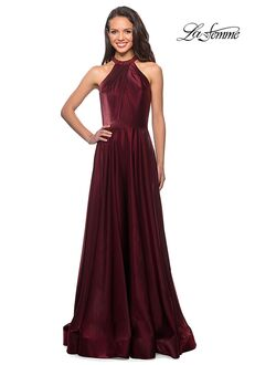 La Femme Evening 25576 Red Mother Of The Bride Dress