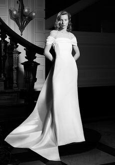 Viktor&Rolf Mariage GRAPHIC DRAPED COLUMN Sheath Wedding Dress