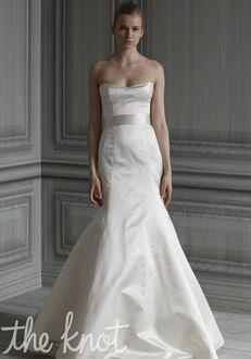 Monique Lhuillier Simplicity Mermaid Wedding Dress