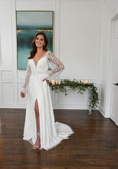 Essense of Australia D3296 A-Line Wedding Dress