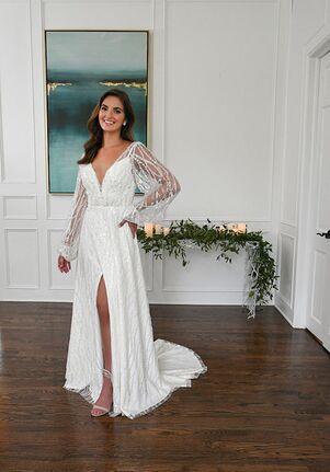 Essense of Australia D3296 A-Line Wedding Dress