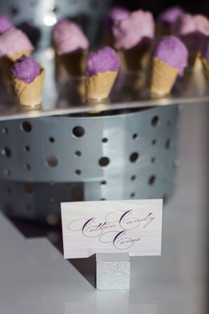 Mini Cotton Candy Cones