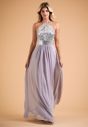 B2 Bridesmaids by Jasmine B223016 Halter Bridesmaid Dress