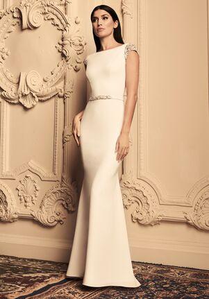 Paloma Blanca 4807 Mermaid Wedding Dress