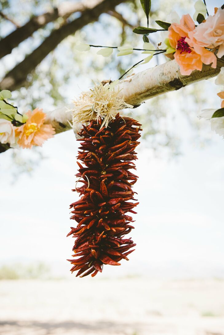 Dried Chili Pepper Garland