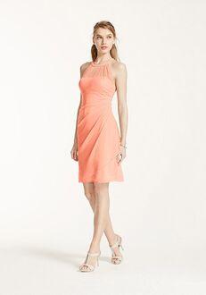 David's Bridal Collection David's Bridal Style F15612 Illusion Bridesmaid Dress