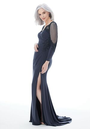 MGNY 72231 Gray Mother Of The Bride Dress
