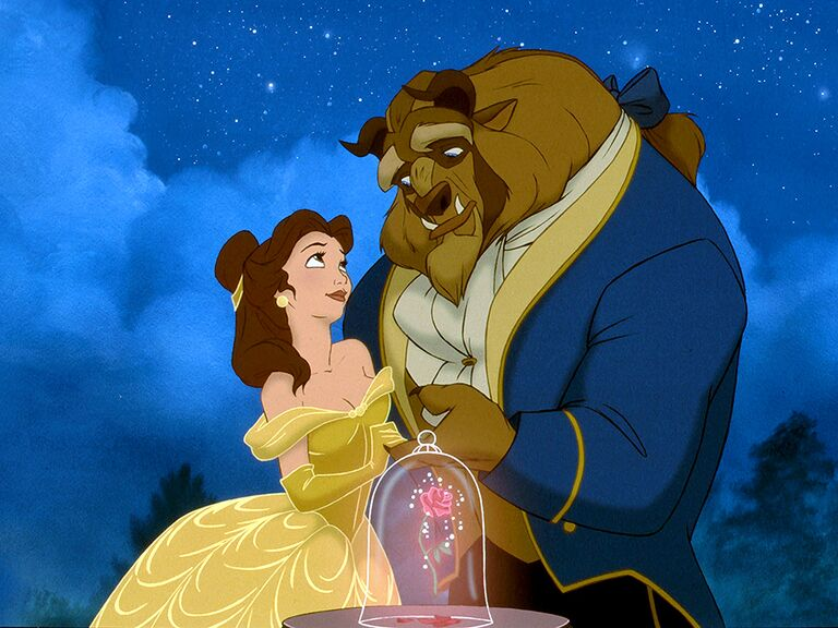 Belle and Beast famous disney couples