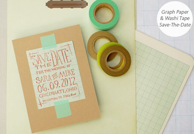 6 diy save the date templates you can easily pull off photo antiquaria featured the knot blog junglespirit Gallery