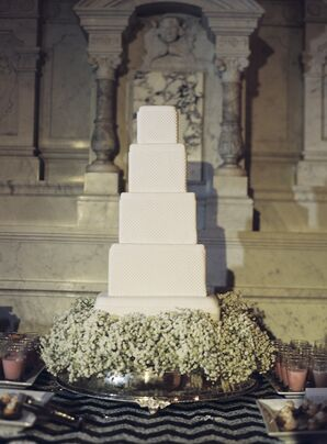 Five-Tier Square Cake