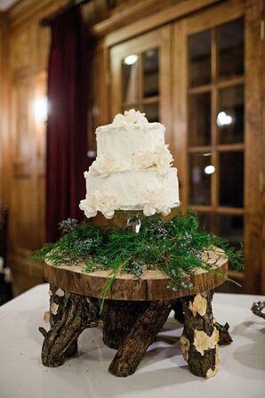 Funfetti and Chocolate Wedding Cake