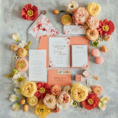 Krystals Wedding Invitations