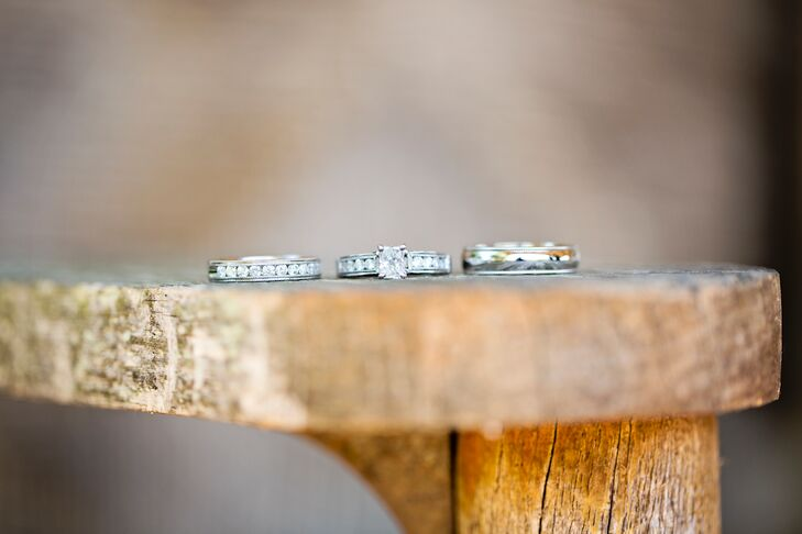Alexandria and Travis's Wedding Rings