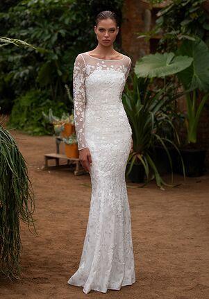 ZAC POSEN FOR WHITE ONE ACE Mermaid Wedding Dress