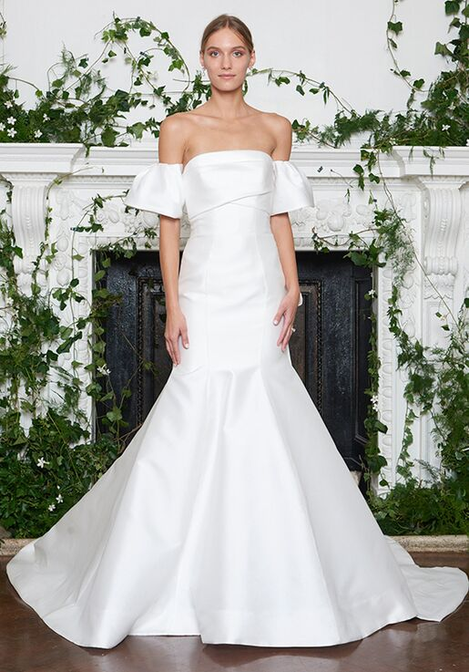 Monique Lhuillier Winston Mermaid Wedding Dress