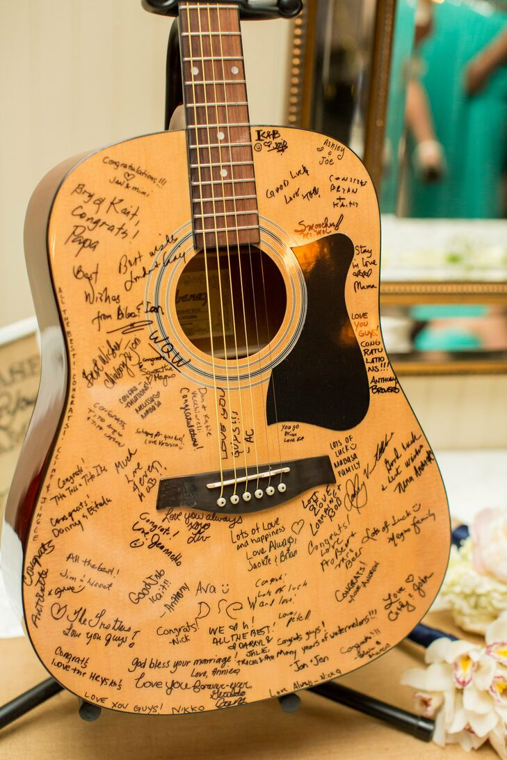 Acoustic Guitar Guestbook